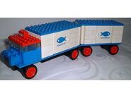 375-Refrigerator Truck and Trailer