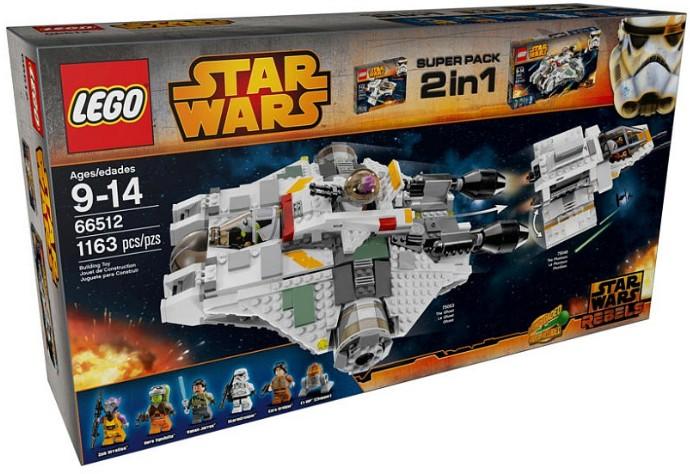 66512 Star Wars Super Pack 2 in 1   Brickipedia   FANDOM powered ...