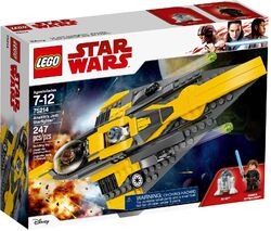 75214 Anakin's Jedi Starfighter Box
