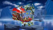 Lego Ninjago Final Flight of Destiny's Bounty 4