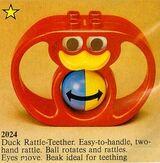 2024 Duck Rattle-Teether