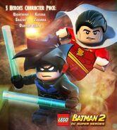 LEGO Batman 2 5 Heroes Character Pack