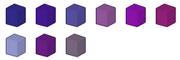 Purple Colour Chart