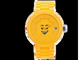 5004128 Montre adulte jaune Visage joyeux