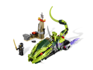 9447 La moto serpent de Lasha