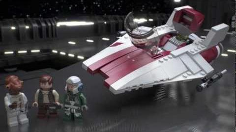 LEGO Star Wars A-Wing Starfighter(75003)