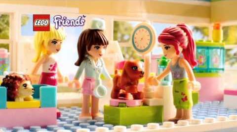 Lego Friends La clinique vétérinaire 3188