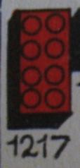 1217 2 x 4 Bricks