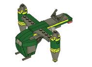 20021 Mini Bounty Hunter Assault Ship
