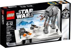 40333 Battle of Hoth - 20th Anniversary Edition Box