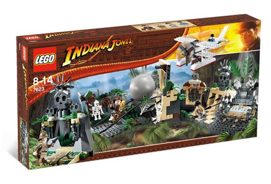 LEGO INDIANA JONES SET 7199 GRAY WALL,ROCK WALL TEMPLE OF DOOM 1