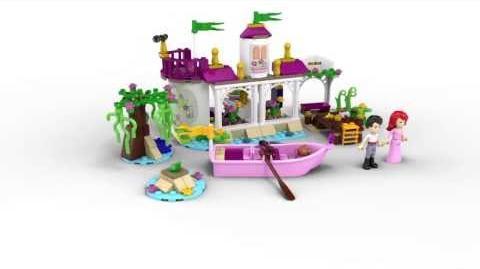 Lego Disney Princess 41052 Ariel's Magical Kiss Lego 3D Review