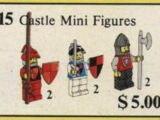15 Castle Mini Figures