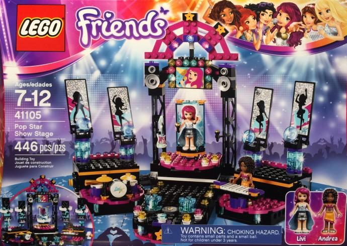 41105 Pop Star Show Stage   Brickipedia   FANDOM powered