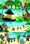 6243 Brickbeards Bounty comic 1