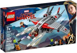 76127 Captain Marvel and the Skrull Attack Box