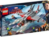76127 Captain Marvel and the Skrull Attack