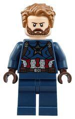Beard captain america