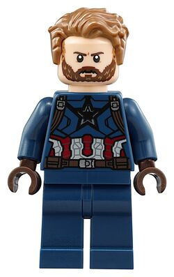 Beard captain america