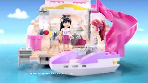 LEGO Friends Dolphin Cruiser -- 15 second spot