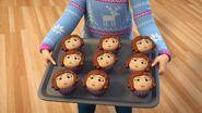 Cupcakes Olivia-Songe d'une nuit d'hiver