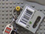 852130 Scarecrow Key Chain
