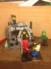 Lego Zombie Survivor Shelter Battle Pack