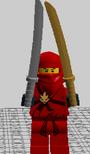 Ninja lego diego custom
