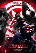 The LEGO Ninjago Movie Poster Garmadon 2