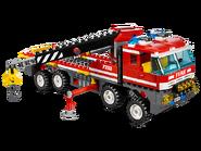7213 Le camion tout-terrain et le bateau des pompiers 5