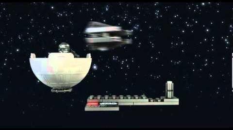 LEGO STAR WARS - TIE Interceptor & Death Star 9676