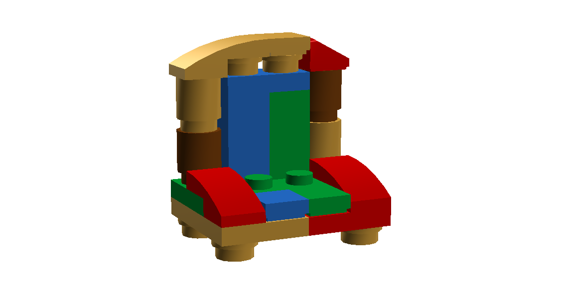 Santa Squidward's Chair
