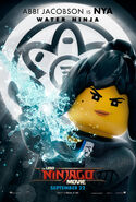 The LEGO Ninjago Movie Poster Nya 2