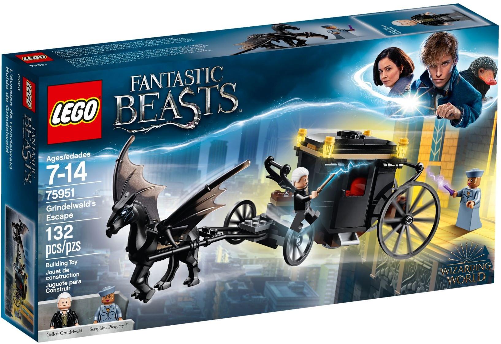 Lego Harry Potter Chariot Poudlard Express 4708