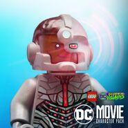 Cyborg DCEU Poster