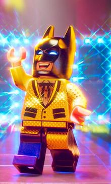 Gold Batman Suit