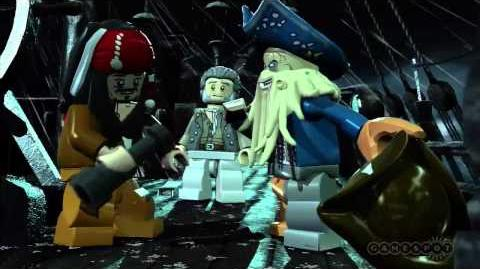 LEGO Pirates of the Caribbean The Video Game Dead Man's Chest Trailer (PS3, Xbox 360, Wii)