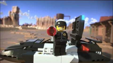 Lego Movie 70802 Bad Cop's Pursuit Lego 3D Review