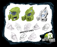 Prototype Lewa Nuva 2008 mask scetches 2