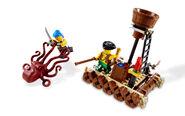 6240 Le radeau des pirates et la pieuvre 4