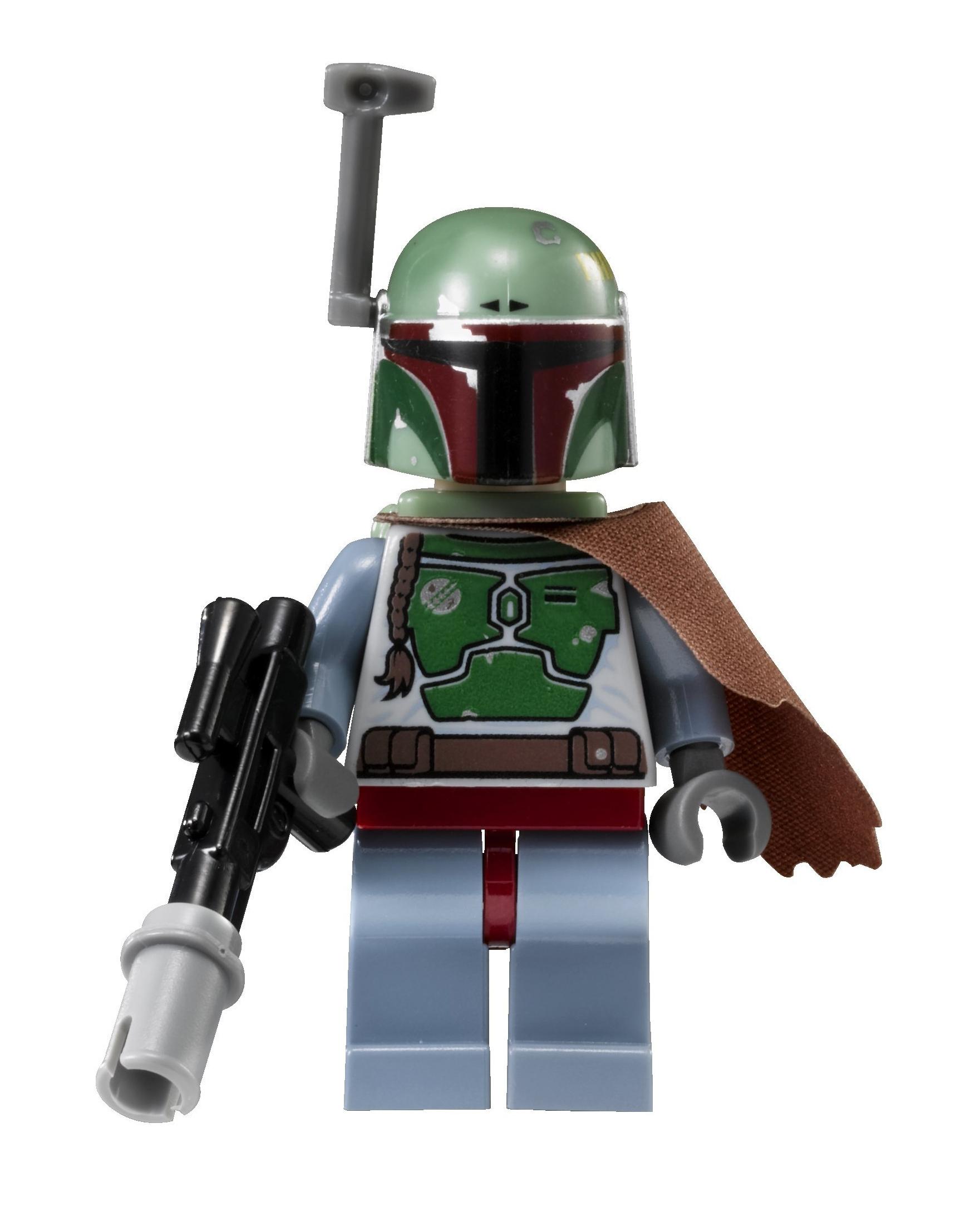 Lego Boba Fett 6210 6209 Bluish Grays Star Wars Minifigure