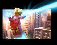 LEGO Marvel Super Heroes Render Iron Man