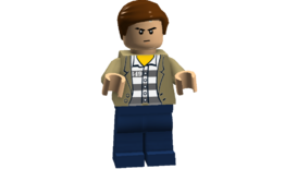 The Big Bang Theory minifigures (Lonely Larry)