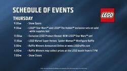 SDCC Programme 18 juillet 2013