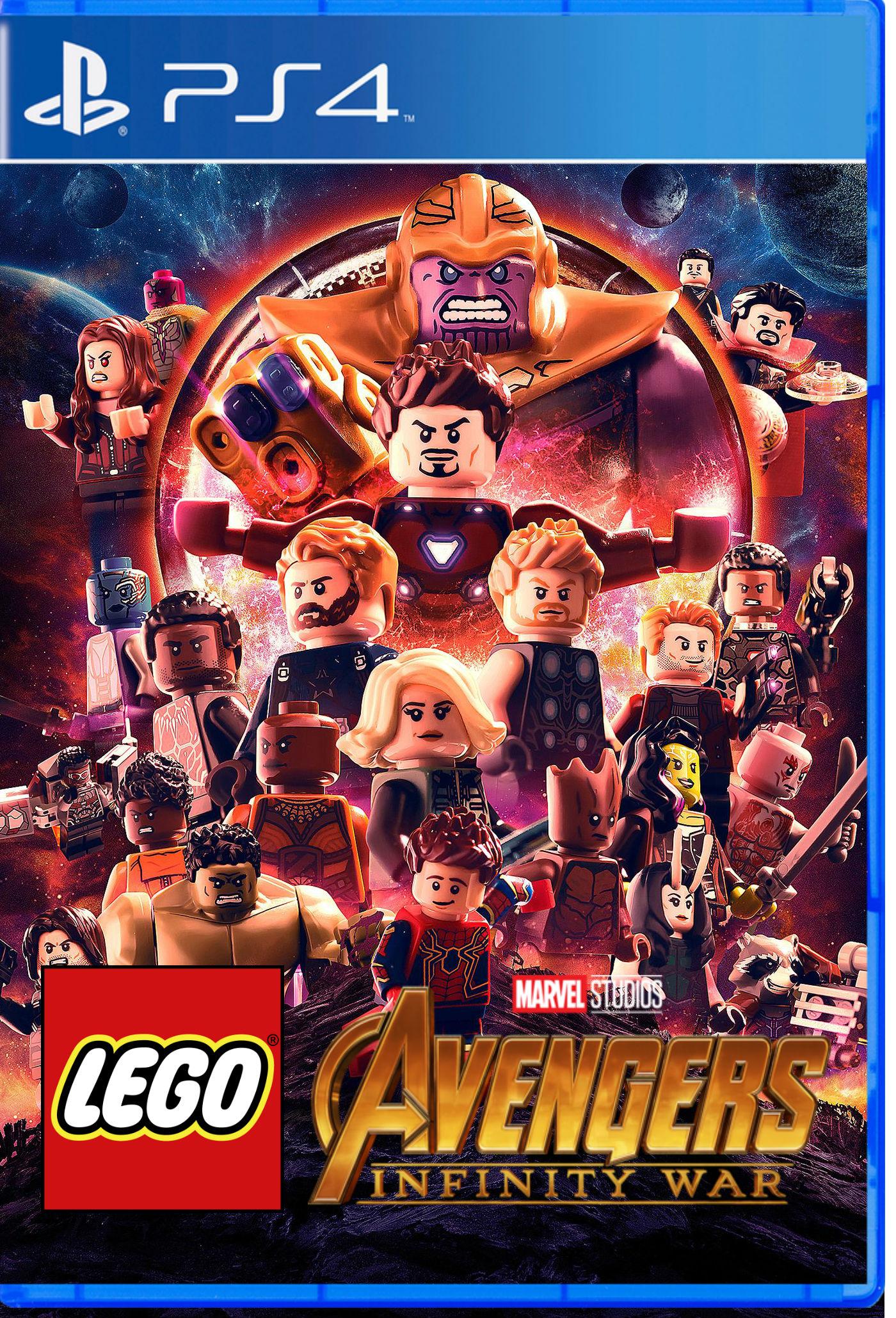 Custom:LEGO Marvel Avengers: The Infinity War | Brickipedia | FANDOM