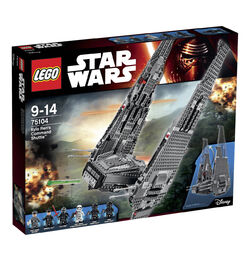 Lego Kylo Ren's Command Shuttle box1