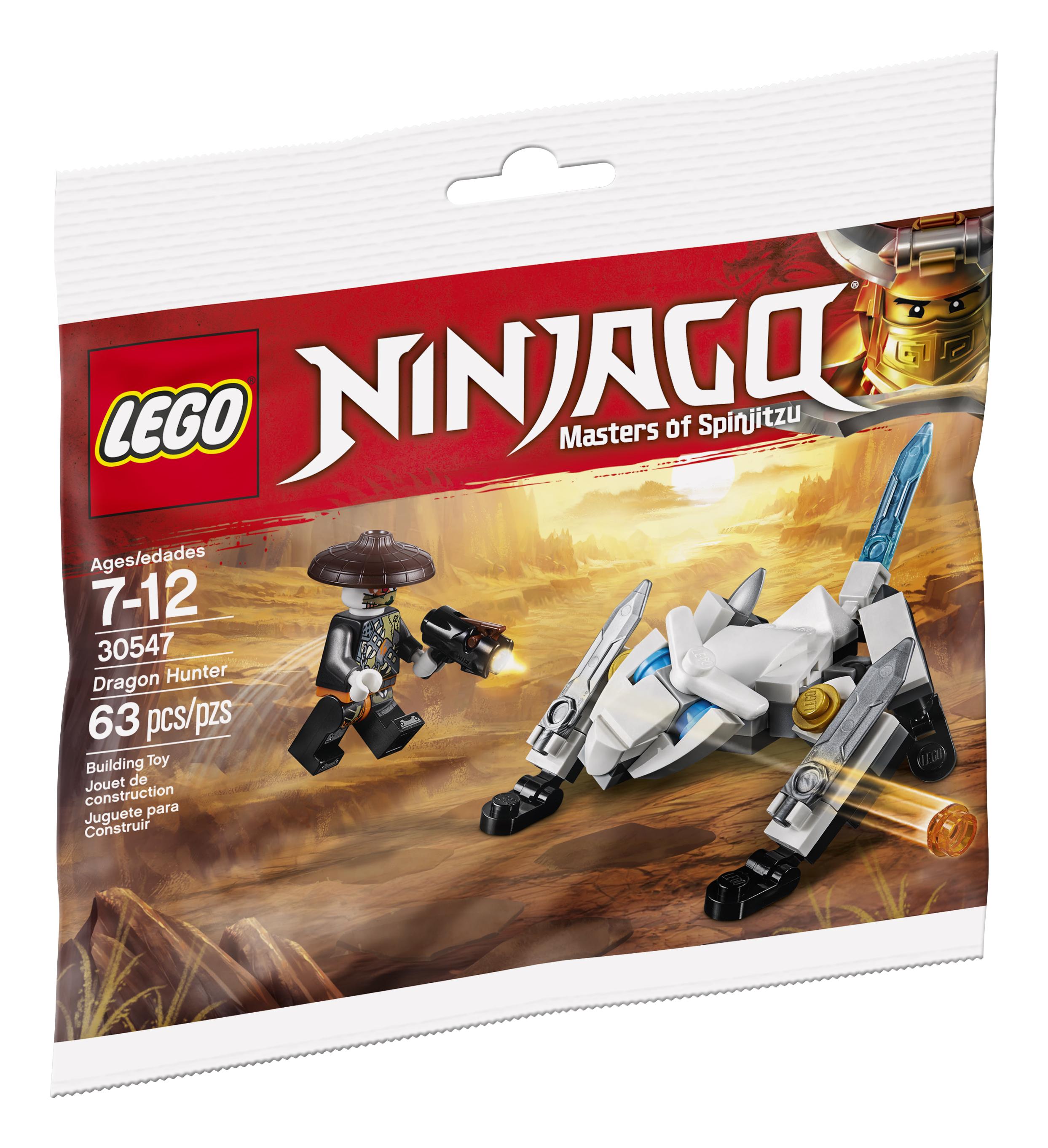 Lego Ninjago Dragon Hunter Polybag 30547