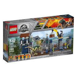75931 Dilophosaurus Outpost Attack Box
