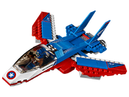 76076 La poursuite en avion de Captain America 2