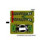 Claw ripper stickers